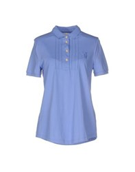 Jeckerson Topwear Polo Shirts Women Lilac