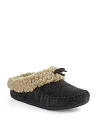 Fitflop The Cuddler Snugmoc Tm Wool Moccasin Slippers Gray