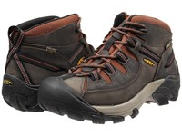 Keen Targhee Ii Mid Raven Tortoise Shell Men's Waterproof Boots Brown