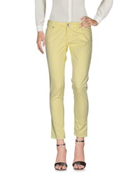 Entre Amis Casual Pants Yellow