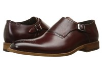 Stacy Adams Dinsmore Plain Toe Monk Strap Red Men's Monkstrap Shoes