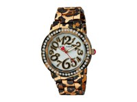 Betsey Johnson Bj00482 09 All Over Leopard Print Leopard Print Watches Animal Print