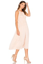 Endless Rose Strappy Maxi Dress Pink