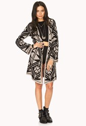 Forever 21 World Traveler Tribal Print Cardigan