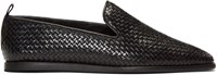 Hudson H By Black Woven Ipanema Loafers