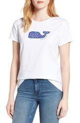 Vineyard Vines Women's School Of Whales Graphic Tee