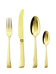 Sambonet Imagine Pvd Gold 24 Piece Flatware Set