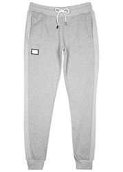 Blood Brother Form Cotton Blend Jogging Trousers Grey