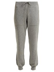 Barrie Romantic Cashmere Track Pants Grey