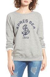 Billabong Women's Apres Sea Sweatshirt