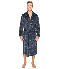 Jockey Micro Poly Sueded Robe Navy 1 Men's Robe