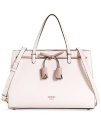 Guess Leila Girlfriend Medium Satchel Shell Multi