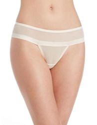 Dkny Lace Thong Parchment