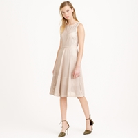 J.Crew Collection Perforated Leather Dress