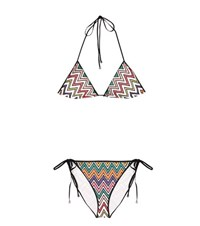 Missoni Mare Triangle Bikini Multicoloured