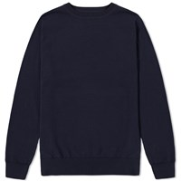 Sophnet. Camouflage Back Panel Crew Knit Blue