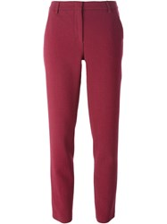 Emilio Pucci Cropped Trousers Red