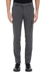 Atm Anthony Thomas Melillo Bonded Jersey Cargo Pants Black