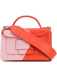 Pierre Hardy Colour Block Tote Red