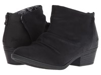 Blowfish Stood Up Black Draped Micro Rocksteady Pull On Boots