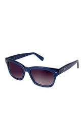 7 For All Mankind Unisex Blue Crystal Wayfarer Sunglasses