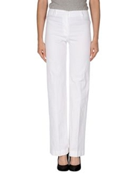 Irma Bignami Casual Pants White