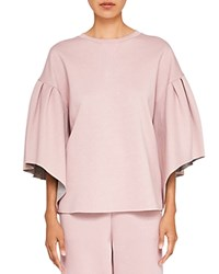 Ted Baker Says Relax Orcher Full Sleeve Sweatshirt Dusky Pink
