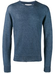 Our Legacy Base Round Neck Jumper Blue
