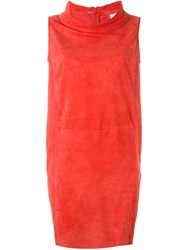 Desa 1972 Sack Dress Red