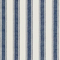 Dash And Albert Blue Awning Stripe Rug 76X244cm