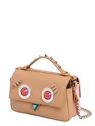 Fendi Micro Double Baguette Faces Leather Bag