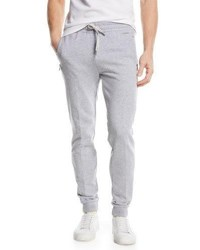 Zegna Sport Basic Cotton Jogger Pants Gray