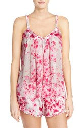 Women's Oscar De La Renta Sleepwear Camisole And Short Pajamas