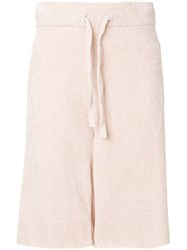 Laneus Terry Shorts Pink And Purple