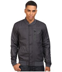 Hurley All City Stealth Bomber Jacket Black Men's Coat