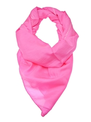 Gianfranco Ferre Vintage Neon Pink Scarf Pink And Purple