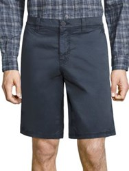 John Varvatos Triple Needle Shorts Mercury Grey