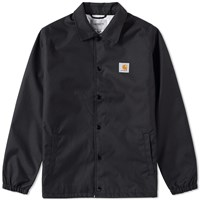 Carhartt Watch Coach Jacket Black