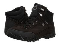 Allrounder By Mephisto Nigata Tex Black Rubber Dark Brown Suede Women's Lace Up Casual Shoes