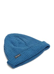 Story Mfg. Cragsman Knitted Beanie Hat Blue