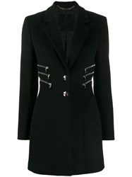 Philipp Plein Zipper Coat Black