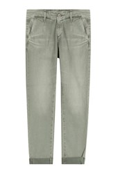 Ag Adriano Goldschmied Caden Cropped Chinos Gr. 32