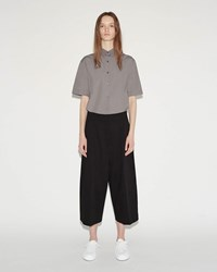 Jil Sander Costanzo Long Bermuda Trousers Black