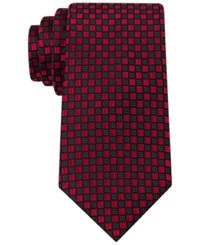 Sean John Highlight Neat Tie Red
