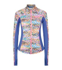 Juicy Couture Calypso Leopard Print Fitted Jacket Female Multi