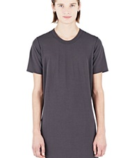 Rick Owens Doubled Short Sleeved Tunic Grey