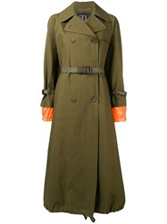 Bazar Deluxe Double Breasted Coat Green
