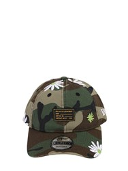 New Era Military Flower 940 Cotton Baseball Hat Multicolor