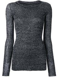 Isabel Marant Fitted Sweater Grey
