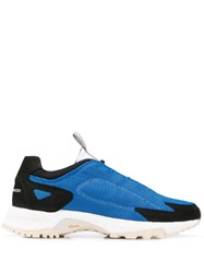 Filling Pieces Low Top Pull Tab Sneakers Blue
